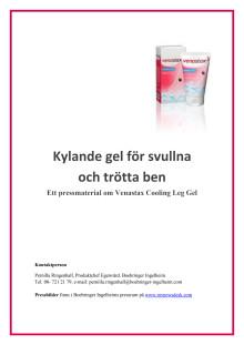 Faktamaterial - kylande gel för trötta och svullna ben