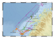 Unike data samlet inn av havdroner!