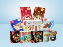 Sabeltann-is og iskremfavoritter i storforpakning blant sommerens nyheter fra Hennig-Olsen Is