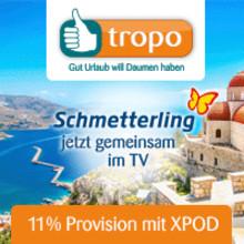 Kreta-Werbespot von Schmetterling und tropo auf allen Sendern der ProSieben/SAT.1 Media AG