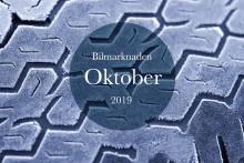Bilmarknaden oktober 2019