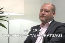 Video: Atria Oyj:n osavuosikatsaus 1.1.-30.9.2014 - toimitusjohtaja Juha Gröhnin haastattelu