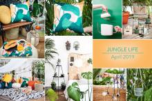 Jungle life! Lagerhaus presenterar årets nyheter för balkong och terrass