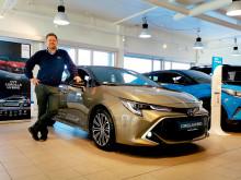 Enorm interesse for Toyotas nye hybridbiler