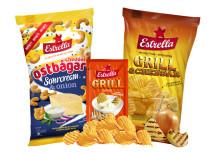 Chips, dipp och bågar i ny tappning