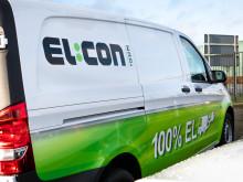 EL:CON sender 25 nye eldrevne arbejdsbiler på gaden