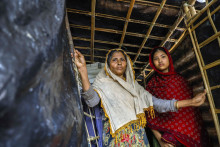 """Krisen i Myanmar: """"Jag är rädd, för alla stirrar när jag går ut"""""""