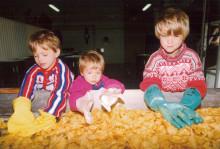 Historien om Svenska LantChips - De första 40 chipspåsarna till lanthandlaren i Ed