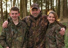 Moss family win Red Squirrel Survival Trust Award