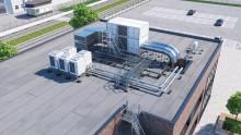 Walravens nya systemlösning för snabbare och enklare installationer på platta och låglutande tak