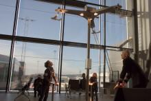 Åpning av VilVite-installasjoner på Bergen lufthavn Flesland i dag