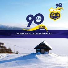 Tärna IK Fjällvinden 90 år - jubileumsbroschyr