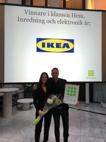 IKEA prisas för sin service på gala