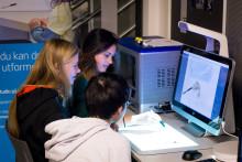 HP har startet verdensomspennende teknologiprosjekt på Teknologiskolen Hundsund på Fornebu