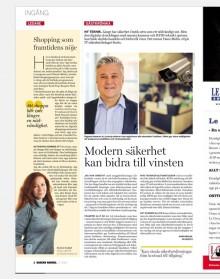 Gästkrönika i Dagens Handel av Hans Molin, Vd Secits