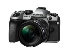 Olympus annonserer sølvutgaven av det revolusjonerende kameraet OM-D E-M1 Mark II