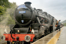 Successful summer of steam