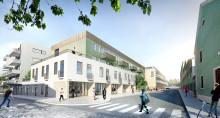 Förslag om 250 nya bostäder i Växjö kommunhus och minskade lokalkostnader för kommunen