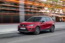 Ny SEAT Arona får 5 stjerner i Euro NCAP testen