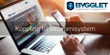Integrera Bygglet med ditt ekonomisystem