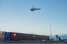 Flygande start för Sveriges största solcellsanläggning