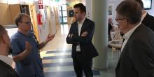Minister berömmer integrerad vård i Norrtälje