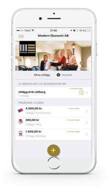 Modern Ekonomi släpper egen app för utläggshantering