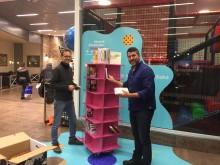 Vimpeln har fått ett eget bibliotek - i samarbete med Alingsås Bibliotek