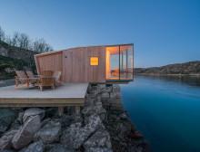 Wie Zelten unter Glas: Renommierter Architekturpreis für Landschaftsferienhäuser in Nordnorwegen