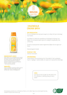 Calendula Cream Bath