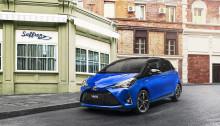 Fem stjärnor till Toyota Yaris i Euro NCAP