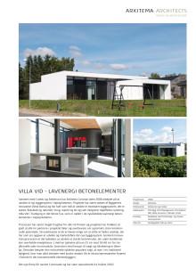 Villa VId, Tranbjerg - Fakta