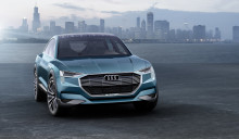 Audi e-tron quattro concept: Eldriven körglädje utan kompromisser
