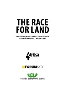 Ny rapport: landgrabbing snabbt växande problem