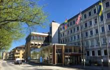 Växjöbostäders vision om bostäder i kommunhuset