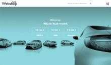 Saab Webshop i ny responsiv model