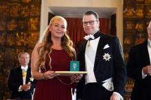 Rapunzel of Swedens VD Ida Backlund får Näringslivsmedaljen för framstående entreprenörskap
