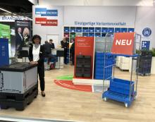 FachPack 2019: Rollcontainer von WALTHER Faltsysteme punktet bei Messebesuchern