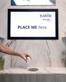BABOR Brand Store & Treatment Lounge först ut i Sverige med digital inspiration genom Lift & Learn teknologin