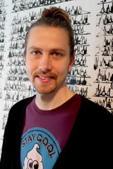 Gatukonstnär bakom årets Kulturkalaskampanj