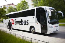 Swebus: Kraftig ökning av resenärer Stockholm - Västerås under tågstopp