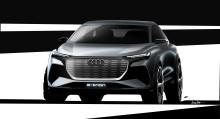 Audi viser Q4 e-tron concept i Geneve