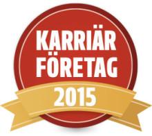 Karriärföretag 2015!