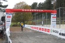 Litlere, Sveum, Ravnøy og Johannesen vant NC 4 Sykkelkross, Sandnes Sykleklubb.