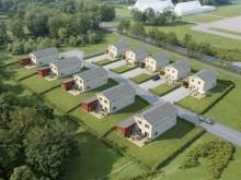 Byggstart av nya OBOS-villor i Värnamo