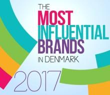 De 10 mest indflydelsesrige brands i Danmark
