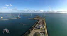 AkzoNobel Specialty Chemicals, DSM, Google und Philips werden mit Strom aus dem neuen Windpark Bouwdokken in den Niederlanden versorgt