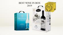 """Matua och Gentleman's Collection utnämnda till """"Best wine in Box"""""""