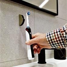 Svensk innovasjon: Veggholder til elektrisk tannbørste!