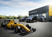 Renault Formula Edition® - ny distinkt design och teknik för Renault transportbilar